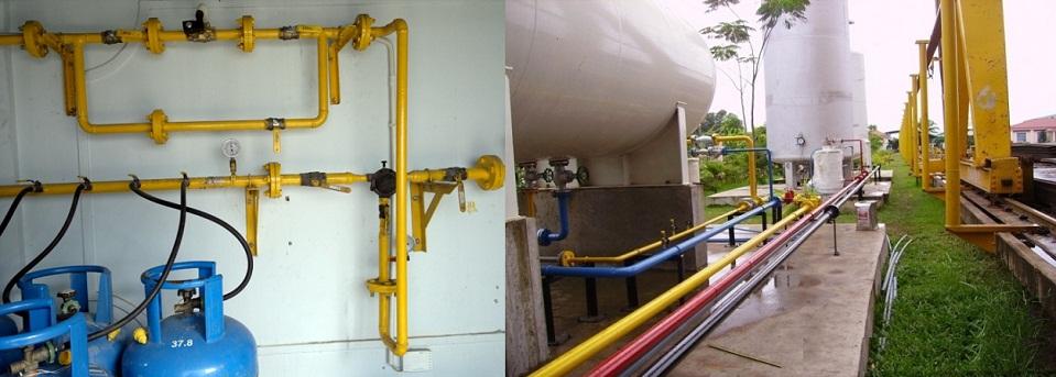 Thiết kế và thi công lắp đặt hệ thống gas